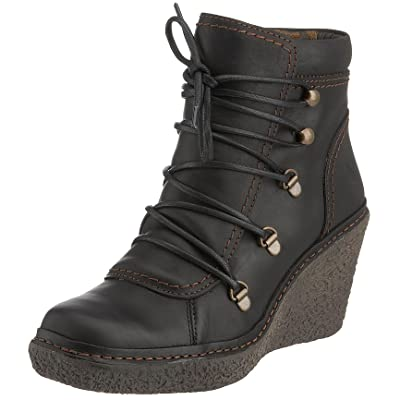 Fly London Women's Ving Lace Up Boot Leather