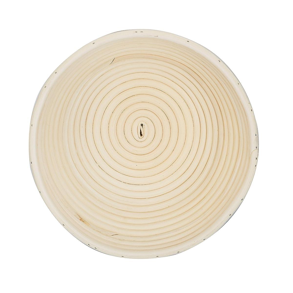 "DOYOLLA 1pcs 8.5"" Round Banneton Brotform Bread Dough Proofing Rising Rattan Basket & Liner"