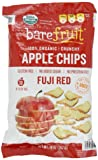 Bare Fruit 100% Organic, Gluten Free, Bake-Dried Apples, Fuji, 14 oz