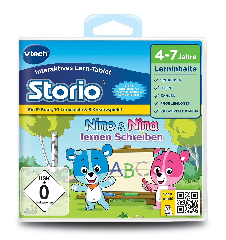 VTech 80-232604 – Lernspiel Nino und Nina lernen Schreiben (Storio 2, Storio 3S) günstig