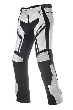 Clover 99137414_ 56GT Pro 2, pantalon de moto Noir/Blanc Taille W: 39