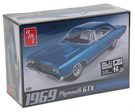 AMT 686 1969 Plymouth GTX 1:25 Plastic Kit Maquette