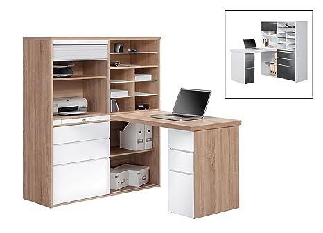 Maia Möbel-Mini Office möhne, circa 127x 150x 187cm