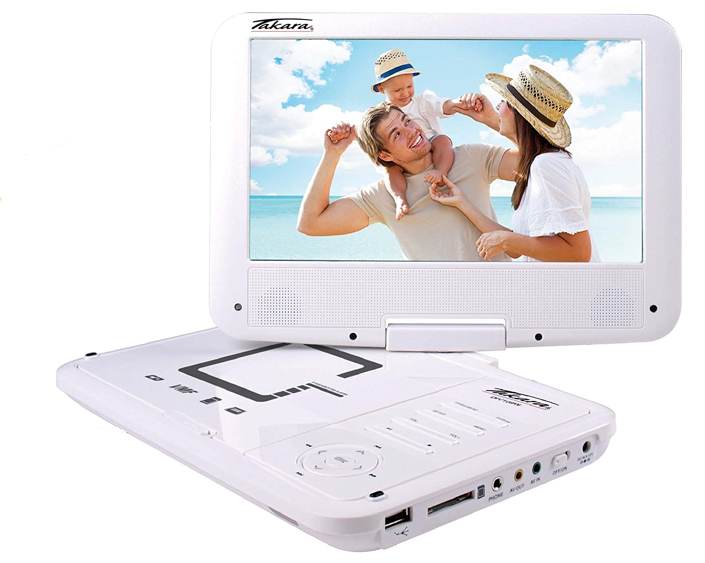 Lecteur DVD portable TAKARA DIV109RW BLANC 9\