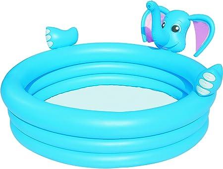 Bestway 60 x 60 x 29 cm - 3 anneaux pour piscine en forme d'éléphant en flacon vaporisateur