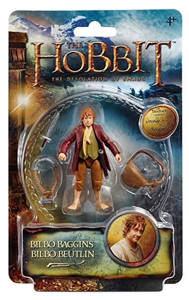 The Hobbit : The Desolation of Smaug – Bilbon Sacquet – Figurine 9 cm (Import Royaume-Uni)
