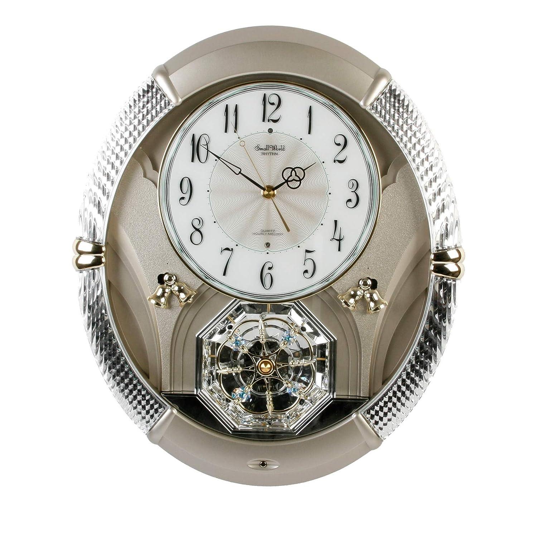 Enchanting Rhythm Musical Magic Motion Small World Wall Clock With Swarovski Ebay