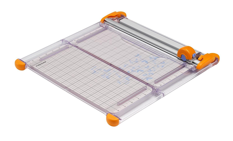 Fiskars 12 Inch Led Surecut Folding Rotary Paper Trimmer
