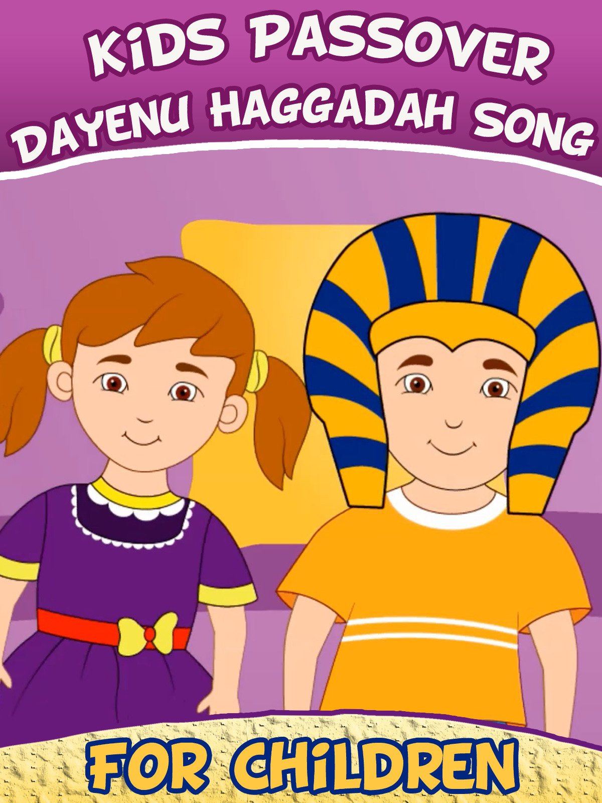 Kids Passover- Dayenu Haggadah Song for Children