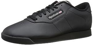 Reebok Women's Princess Classic Shoe, Black, 11.5 M US