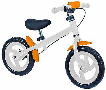 Eddy Toys - 48908 - Draisienne -  Blanc/Orange