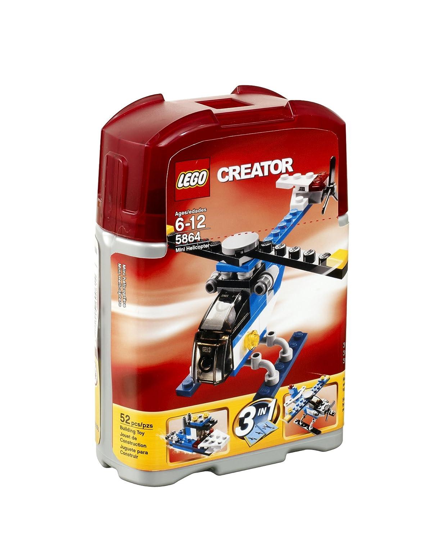 5864 Lego Creator Mini Helicopter (japan import) als Geschenk