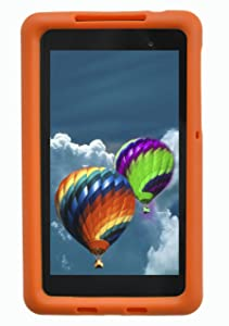 BobjGear - Carcasa resistente para tablet nexus 7 fhd modelo 2013, funda protectora no compatible con la primera generación del nexus 7 2012, color naranja  Electrónica revisión y más información