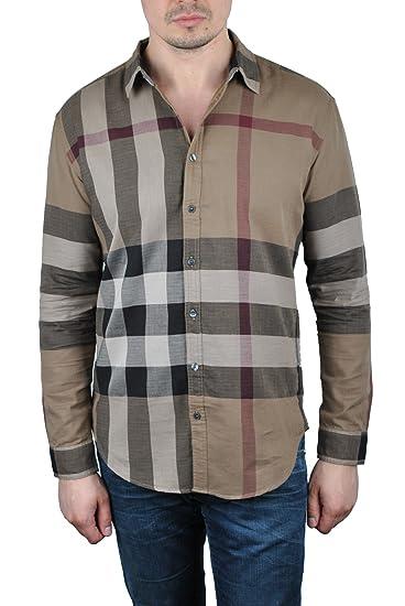 Burberry经典格子衬衫(驼色)只要0 - 第1张  | 淘她喜欢