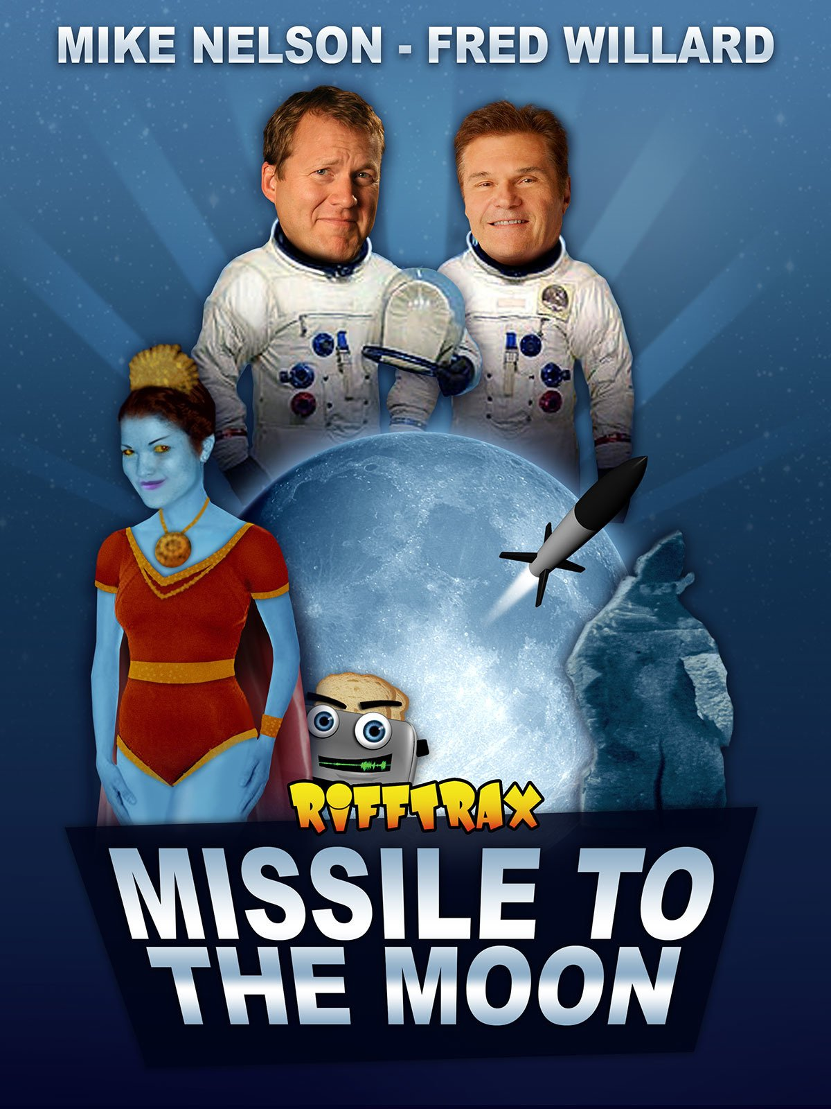 RiffTrax: Missile to the Moon feat. Fred Willard on Amazon Prime Video UK