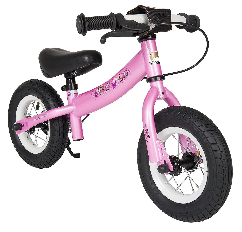 BIKESTAR® Premium Sicherheits-Kinderlaufrad für kleine Abenteurer ab 2 Jahren ★ 10er Sport Edition ★ Märchenhaft Pink als Geschenk
