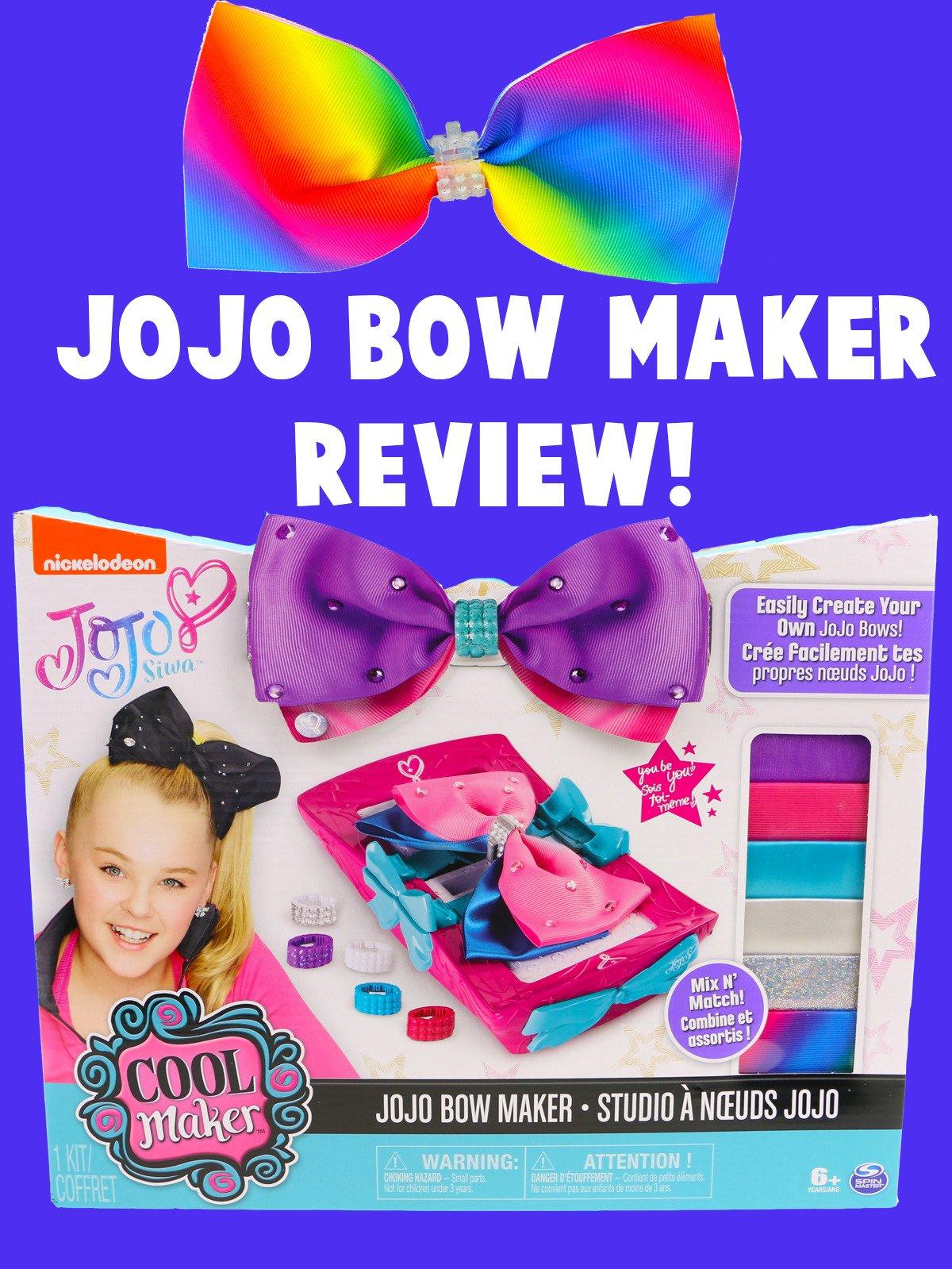 Review: JoJo Bow Maker Review on Amazon Prime Video UK