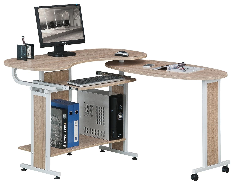 Scrivania tavolo per computer ufficio porta pc salvaspazio - Tavolo porta pc ...