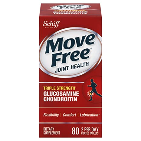 Отзывы Move Free Advanced Triple Strength Joint Supplement with Glucosamine Chondroitin and Hyaluronic Acid