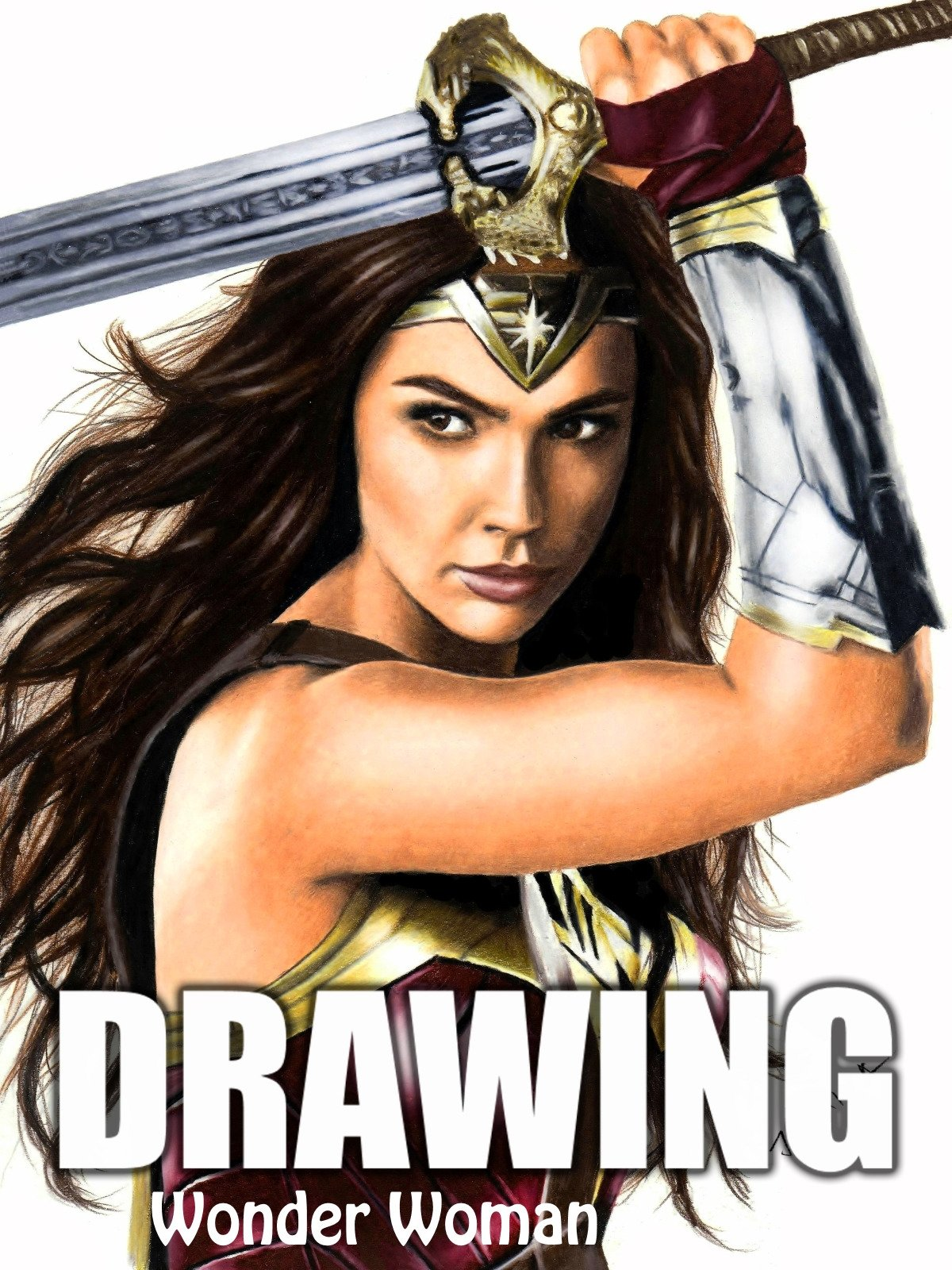 Clip: Drawing: Wonder Woman