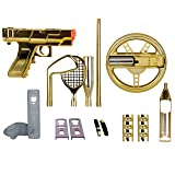 dreamGEAR Nintendo Wii 15-in-1 Player's Kit Plus (gold) (Color: Gold, Tamaño: One Size)