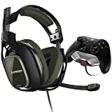 ASTRO Gaming A40 TR Headset + MixAmp M80 - Black/Olive - Xbox One (Certified Refurbished) (Color: Black/Olive)