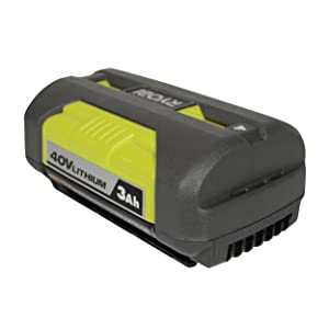 Ryobi OP4030 40V 3.0Ah Lithium ion Battery w/ Fuel Gauge (Renewed)