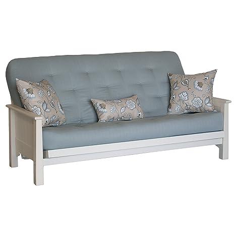 Ross Futon Sofa Sleeper w/2 Pillows