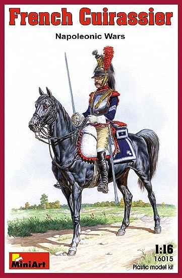 Mini Art 16015 French Cuirassier Napoleonic 1:16 Plastic Kit Maquette