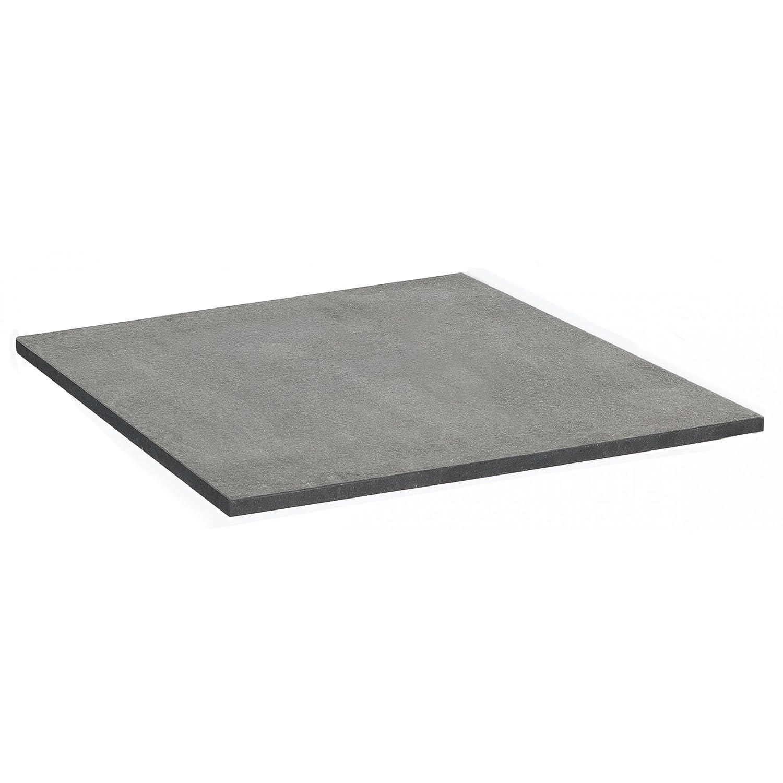 Sonnenpartner Tisch Base Gestell Alu anthrazit Platte Granit anthrazit 90 x 90 cm online bestellen