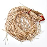 Embroiderymaterial French Coil Bullion Metallic Wire Dabka for Embroidery,Beading and Jewelry Making,Rose Golden Color, 1MM, 50 Yards(100 Gram) (Tamaño: 1 MM)