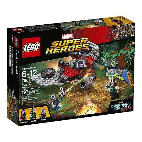 LEGO - 76079 - Jeux de Construction - Ayesha S Revenge Marvel