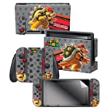 Controller Gear Skin & Screen Protector Set, Officially Licensed - Super Mario Evergreen