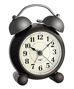 TFA Dostmann 98.1043.06 Nostalgie - Reloj despertador electrónico, color marrón   Comentarios de clientes y más información