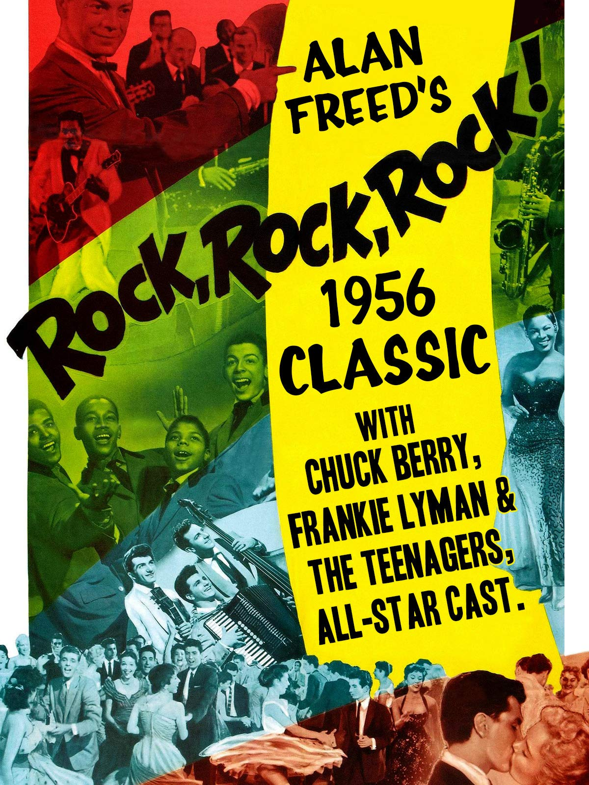 Alan Freed's Rock, Rock, Rock! - 1956 Classic With Chuck Berry, Frankie Lyman & The Teenagers, All-Star Cast