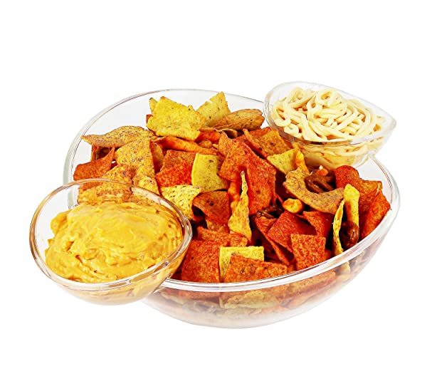 Chips and Dips Snack Bowl Set