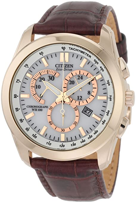 Citizen Men's AT1183-07A Chronograph Eco Drive Watch-奢品汇 | 海淘手表 | 腕表资讯