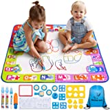Pelican Toys Water Drawing Mat for Kids - Best Aqua Magic Doodle - Mess Free Water Coloring Mats for Toddlers - Color Mat for Boys Girls - Age of 2 3 4 5 6 7 8 Year Old - XL Painting Mat with 3 Pens (Tamaño: 40*28)