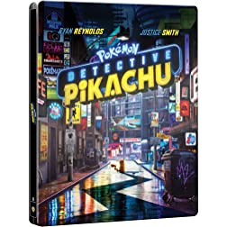 Pokémon Detective Pikachu Steelbook 2019 [Blu-ray]