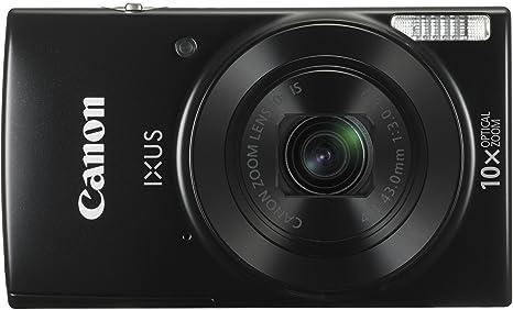 Canon IXUS 180 Appareil Photo Numérique Compact 20 Mpix zoom 10 x Mini-USB B, Wi-Fi Noir