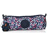 Kipling Freedom Pencil, Multi Use Pouch, Zip Closure, Glistening Poppy Blue (Color: Glistening Poppy Blue, Tamaño: One Size)