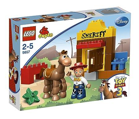 LEGO - 5657 - Jeux de construction - LEGO DUPLO toy story - Jessie et Pile-Poil le cheval