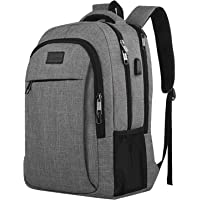 Matein Travel 15.6 Inch Laptop Backpack (Gray)