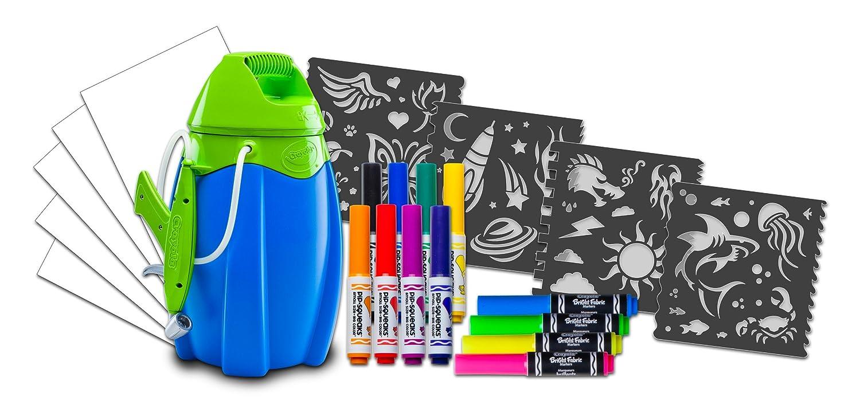 Aerografo crayola marker airbrush para ni os for Aerografo crayola amazon