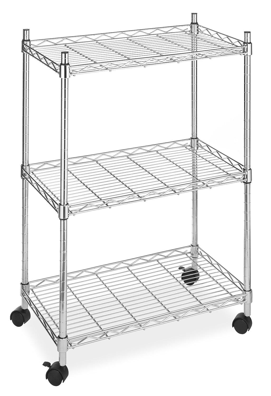 Whitmor 6056-344-N Supreme Cart, Chrome: