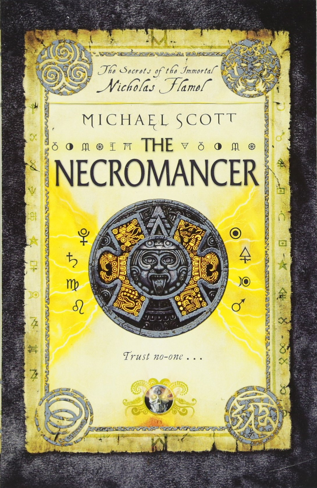Buy The Necromancer: Book 4 (the Secrets Of The Immortal Nicholas Flamel)  Book Online At Low Prices In India  The Necromancer: Book 4 (the Secrets  Of The