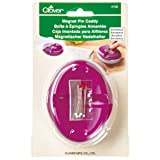 Clover 4105 Magnet Pin Caddy, Bordeaux (Color: Bordeaux)