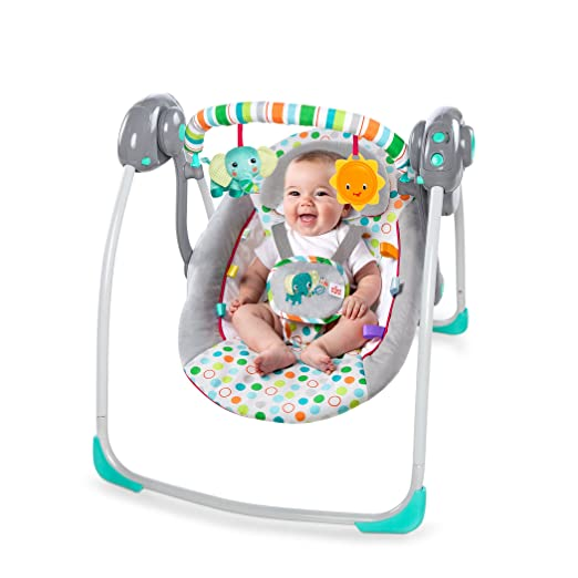 Bright Starts Itsy Bitsy Jungle Portable Swing Review