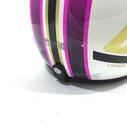 Viper rs04 Open Face Moderna rose casque de moto