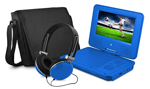 Ematic EPD707BU Portable DVD Player